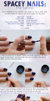 Spacey Nails Tutorial