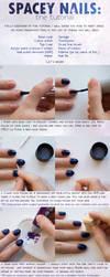 Spacey Nails Tutorial by alexskyline