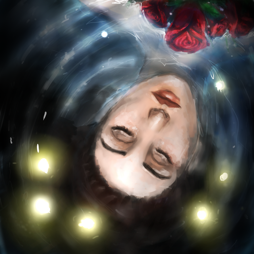 feeling like im deep underwater by Melted-Black