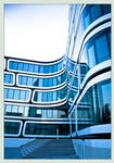 Shining blue building 2 by MarcelHieber