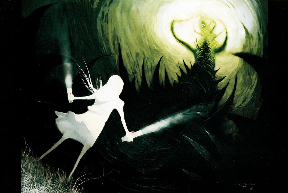 Good vs Evil by iumazark on DeviantArt