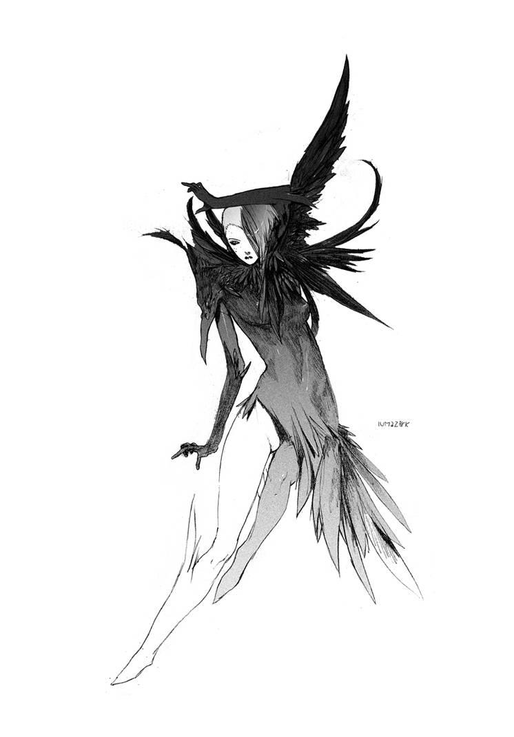 AwaWu  Ravenentity by iumazark