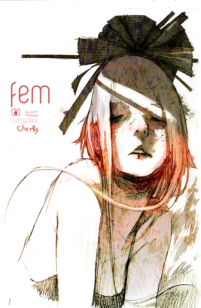Fem - Cherry by iumazark