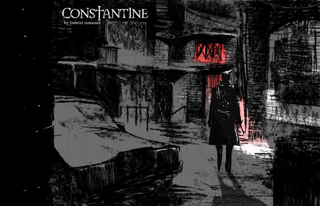 Constantine Fanart by iumazark