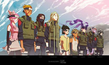 Naruto - Creative Clan Fanart by iumazark