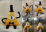 Bill Cipher Plush - Now on Etsy!