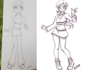 Redraw / Trying out new program Doodle