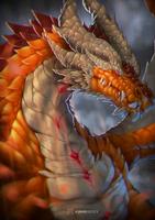 Dragon Portrait by KawaINDEX