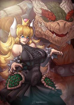 Fantasy Bowsette by KawaINDEX