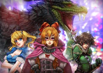 Powerpuf Girls by KawaINDEX