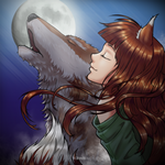 Horo, Spice and Wolf by KawaINDEX