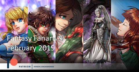 Patreon February by KawaINDEX