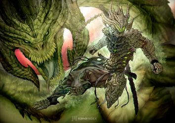 Genji 'The Dragon and I are One' by KawaINDEX