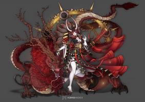Fantasy Kabuki Girl