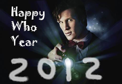Happy Who Year 2012