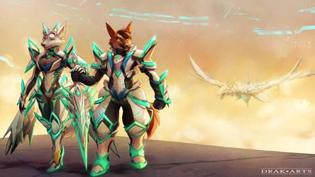 COMM: Phoenix and Alyssa 2 (Xenoblade 2) Ver. 1
