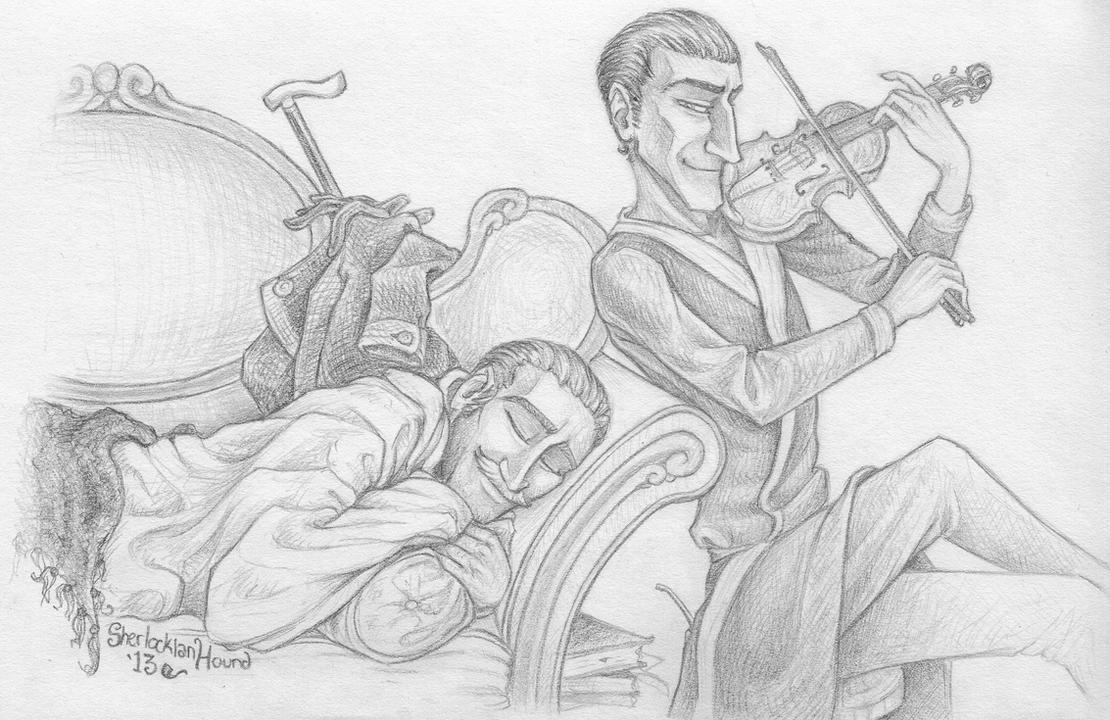 Lullaby Watson by SherlockianHound