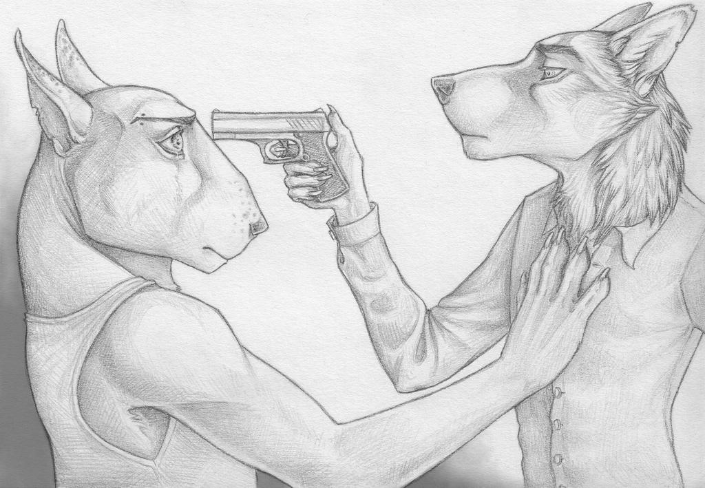 Held at Gunpoint by SherlockianHound