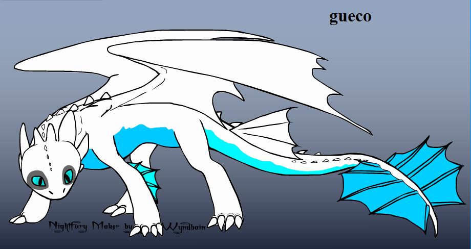 Gueco The Night Fury my oc by Dooma-wolfsvain