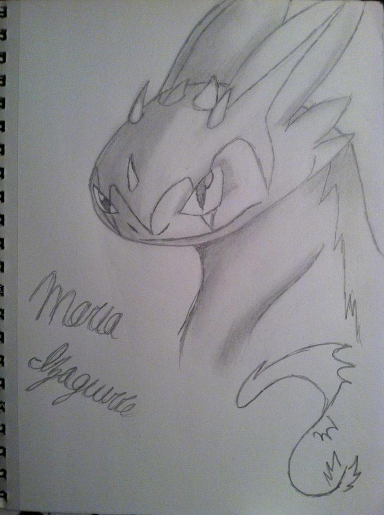 vazuki the nightfury by Dooma-wolfsvain