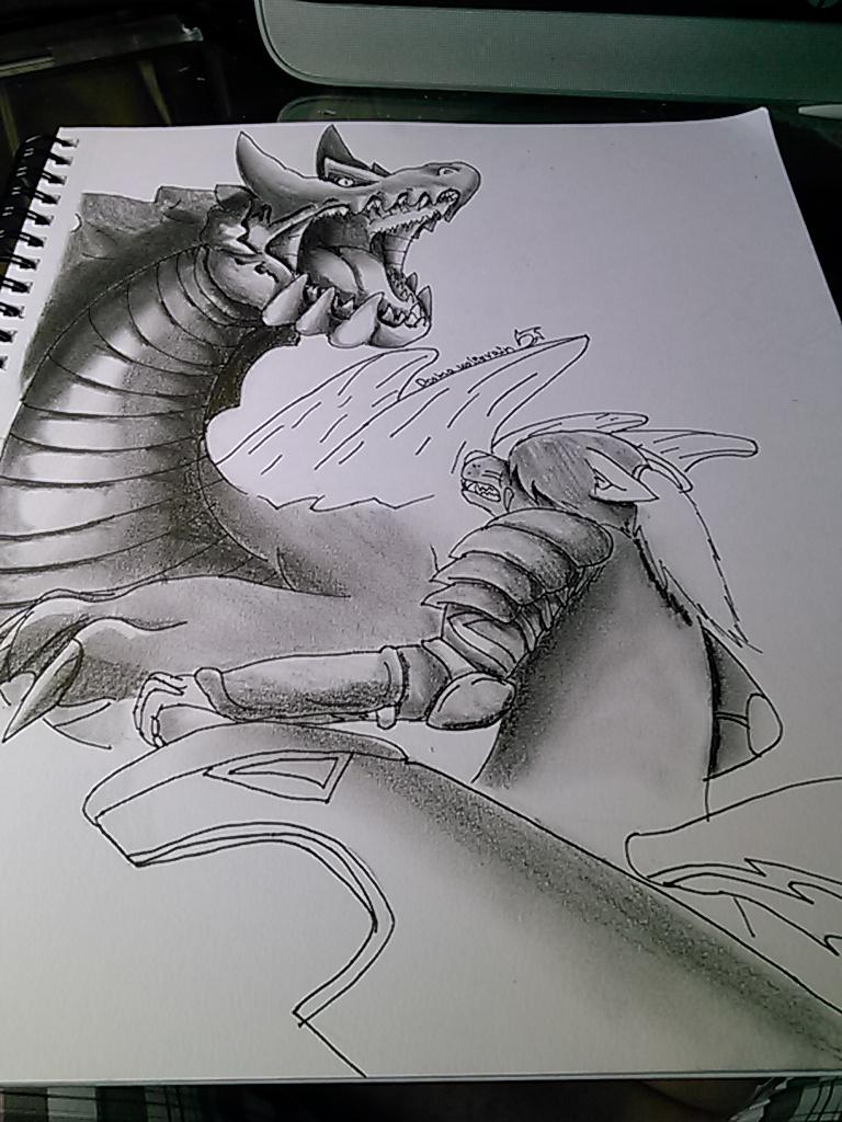 Mansthro Hunter 3tri by Dooma-wolfsvain