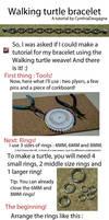 Walking turtle tutorial by CynthiaDesgagne