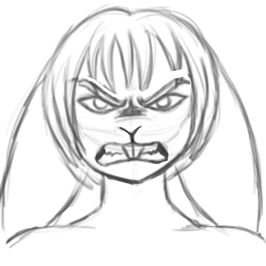Angry Bun Bun by zp92