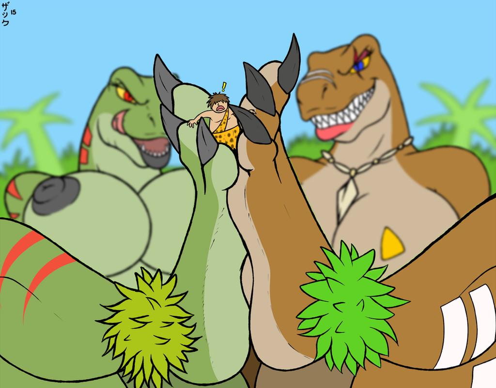 Cartoon dinosaur porn pic hentia photo