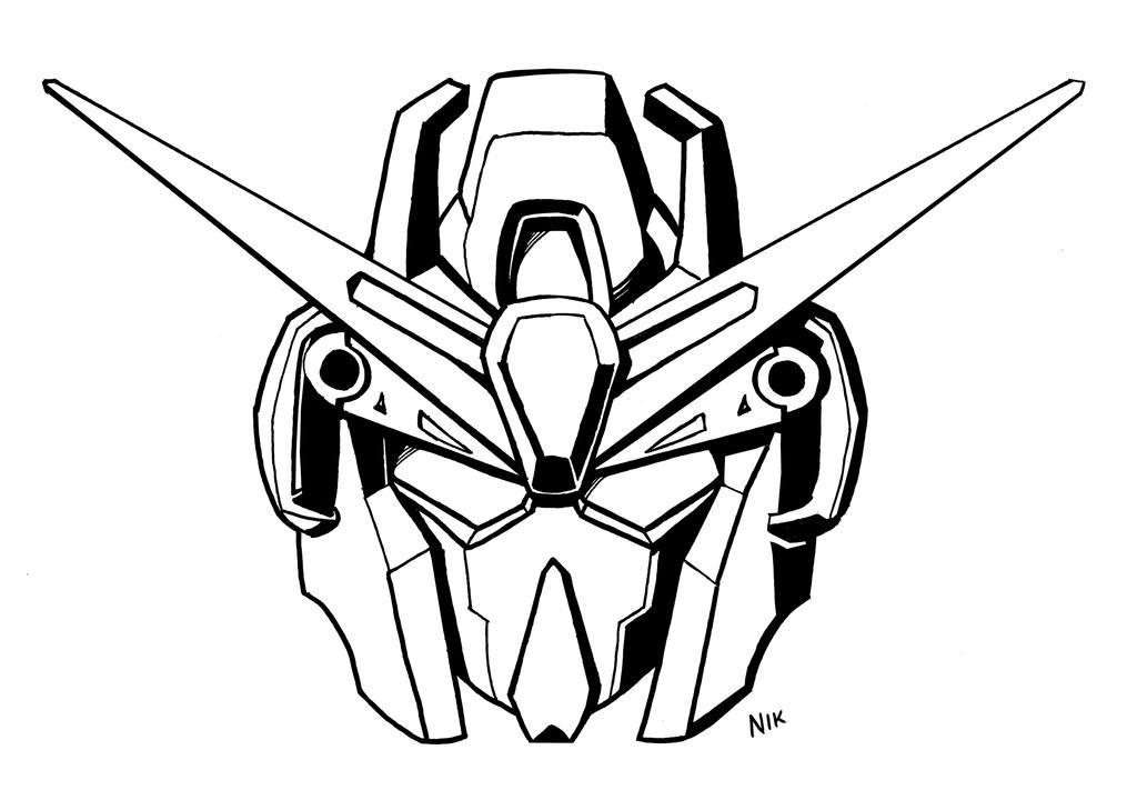 sd zeta gundam line art by t16skyhopp on deviantart
