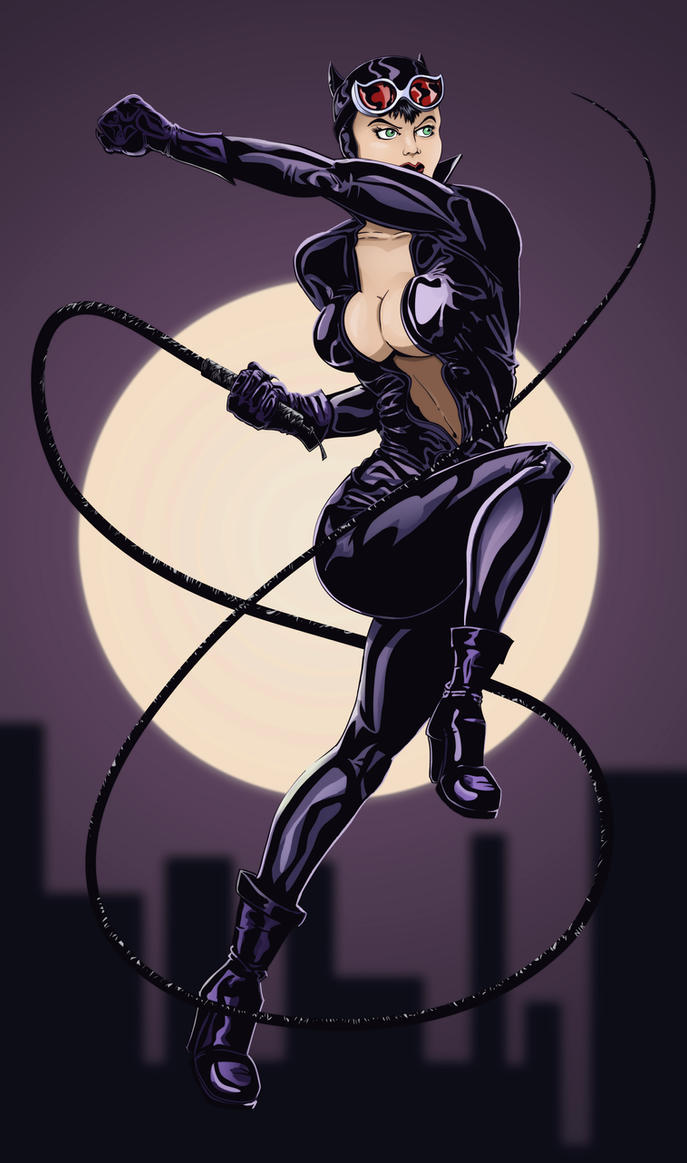 Catwoman (colors) by T16skyhopp