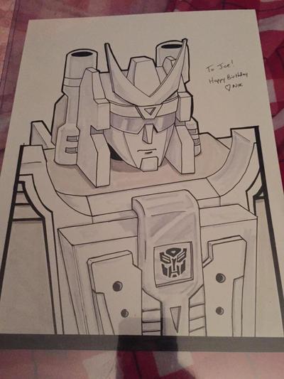 Transformers: Road Caesar by T16skyhopp