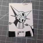 Getter Robo for Inktober