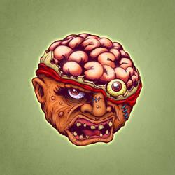 Crack Head / Bash Brain (inks/colors)