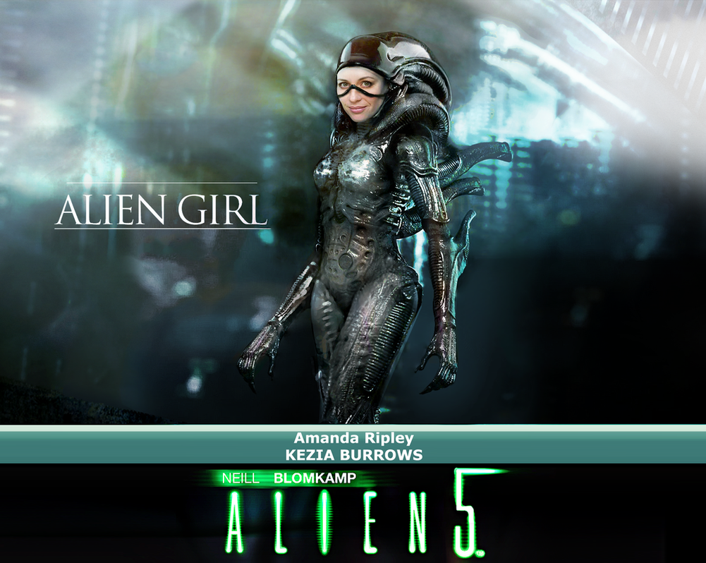 ALIEN GIRL by nelostic