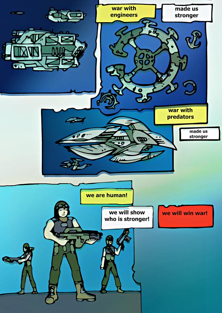 Alienvs Predator : Wars by nelostic