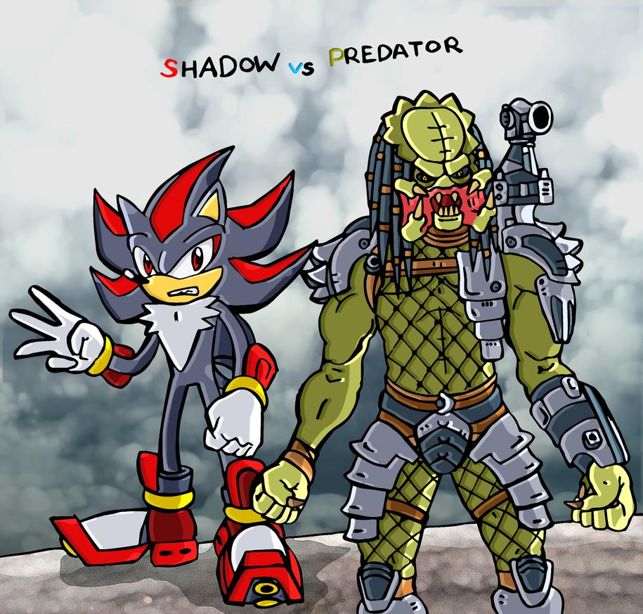 Shadow vs Predator =D by nelostic