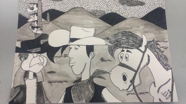 Lucky Luke ~ art class 3(?)