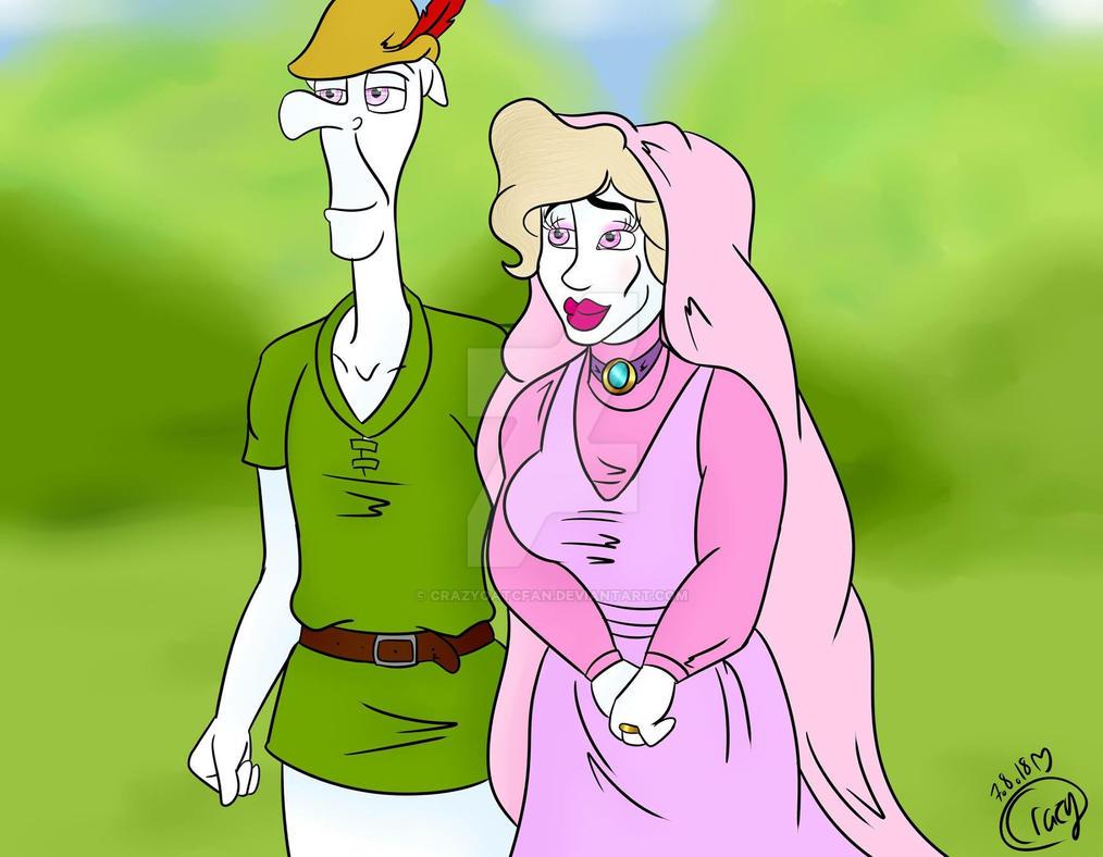 ~ Robin Hood and Maid Marian ~ Cosplay ~ by CrazyOATCFan