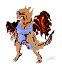 FakePKMN: the planet's rage by CrimsonVampiress