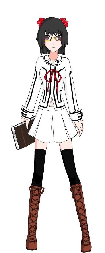 VK: Laura connel school ID by CrimsonVampiress