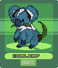 Fakemon Sprite: Koaleaf by CrimsonVampiress