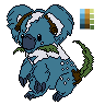 Koaleaf sprite W/O Background by CrimsonVampiress