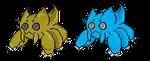 Fakemon: Webtile sprite by CrimsonVampiress