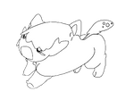Fakemon: Tiny Digging Pokemon by CrimsonVampiress