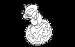 Fakemon: Berry Grub Pokemon by CrimsonVampiress