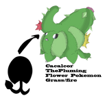Fakemon Evolution Contest: Cacalor by CrimsonVampiress