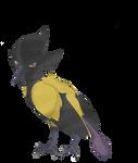Fakemon Commission: Venoise by CrimsonVampiress