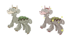 Fakemon Adopt: Ground/Grass Alpaca (Closed by CrimsonVampiress