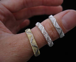 new ring bands by nonomie