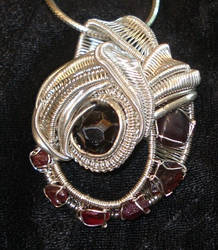pyrope garnet custom wrap by nonomie